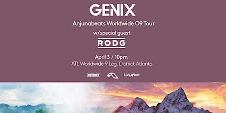GENIX - Anjunabeats Worldwide 09 Tour |  Friday July 17th  2020 tickets