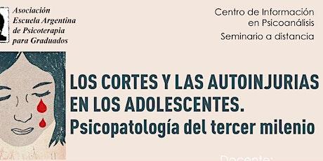 Los cortes y las autoinjurias en los adolescentes (patologías del tercer milenio) entradas