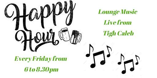 Happy Hour in the Lounge w/ Tom Pontz
