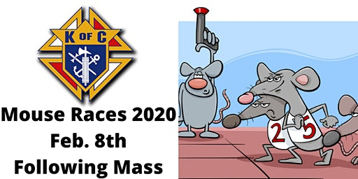 Knights of Columbus Mouse Races 2020