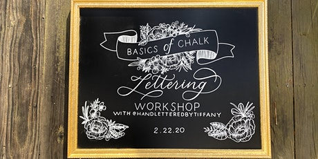 Basics of Chalk Lettering Workshop tickets