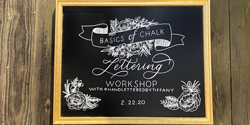 Basics of Chalk Lettering Workshop