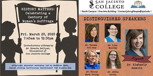 History Matters Conference: Celebrating a Century of Women's Suffrage