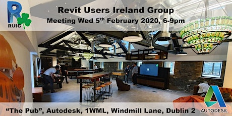 Revit Users Ireland Group (RUIG) Meeting tickets