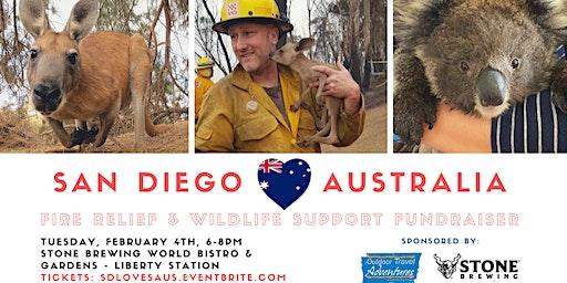 San Diego loves Australia Fundraiser