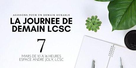 LA JOURNEE DE DEMAIN LCSC billets