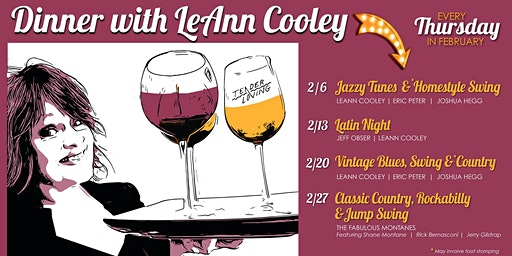 Dinner With LeAnn Cooley: Classic Country, Rockabilly, and Swing
