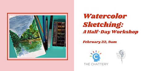 Watercolor Sketching: A Half-Day Workshop tickets