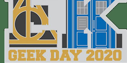 2020 Geek Day 1M 5K 10K 13.1 26.2 –Waco