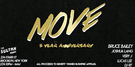 MOVE 5th Anniversary Celebration tickets