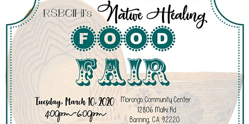 RSBCIHI Native Healing Food Fair