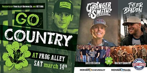 St. Patrick's Day Block Party w/ Granger Smith featuring Earl Dibbles Jr.
