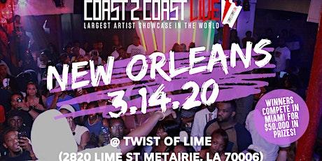 Coast 2 Coast LIVE Showcase New Orleans, LA - Artists Win $50K In Prizes! tickets
