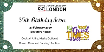 Junior League of London - 35th Birthday Soiree