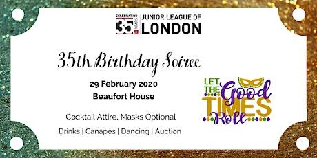 Junior League of London - 35th Birthday Soiree tickets