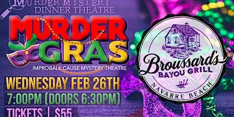 """""""Murder Gras"""" Murder Mystery Show tickets"""