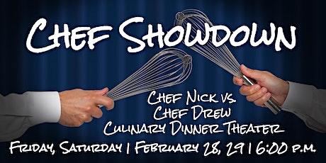 Chef Showdown   Culinary Dinner Theater tickets