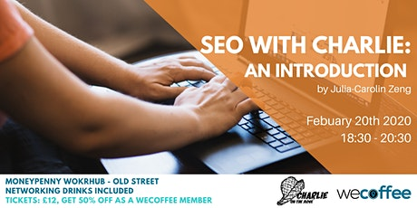 SEO with Charlie - an introduction tickets