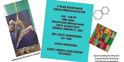 1st African-American Artisan Fair