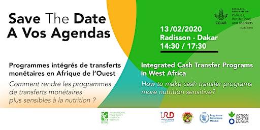 Séminaire : Transferts monétaires & nutrition en Afrique de l'Ouest