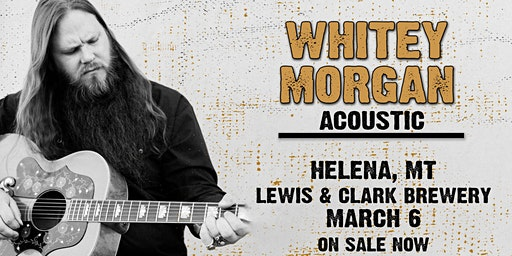 Whitey Morgan Acoustic