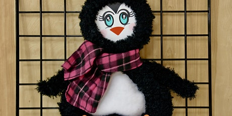 Adorable Penguin Wreath - BYOB tickets