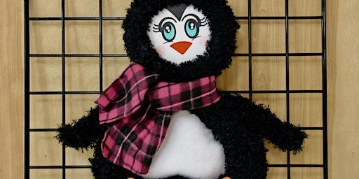 Adorable Penguin Wreath - BYOB