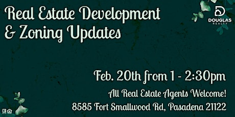 Real Estate Development & Zoning Updates tickets
