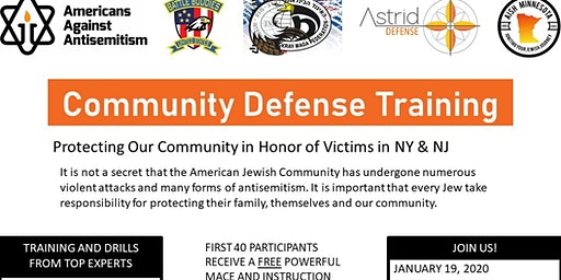 Protecting Our Community in honor of victims in NY and NJ