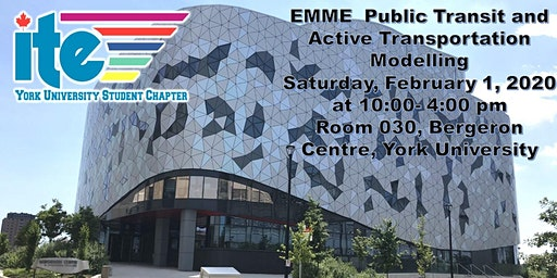 EMME  Public Transit and Active Transportation Modelling