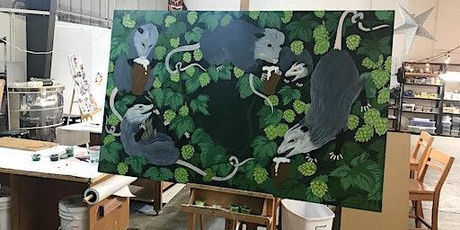 Pints & Paint @ Old Possum Brewing