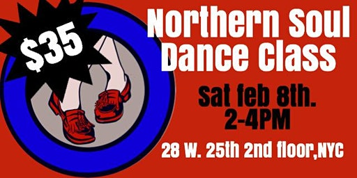 Northern Soul Dance Class