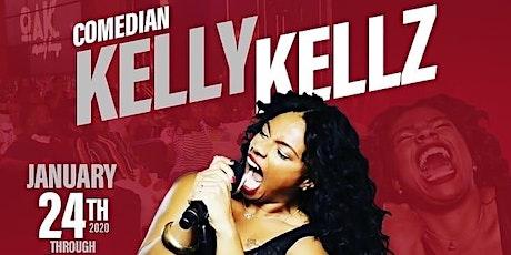 Comedian KELLY KELLZ at OAK COMEDY LOUNGE tickets