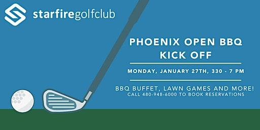 Starfire Golf Club's Phoenix Open BBQ Kickoff