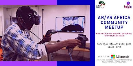 AR/VR Africa Meetup January 2020 tickets