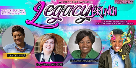 """LEGACY"" WOMEN'S EMPOWERMENT BRUNCH tickets"