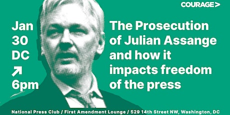 The Prosecution of Julian Assange & Its Impact on the Freedom of the Press tickets
