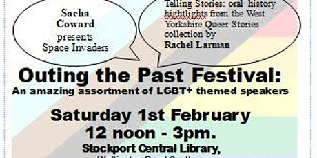 OUTing the Past festival - LGBT+ History Month @ Stockport Central Library tickets