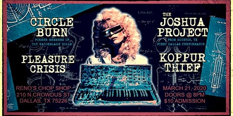 Reno's Electronic/Industrial Show 03.21.20 tickets