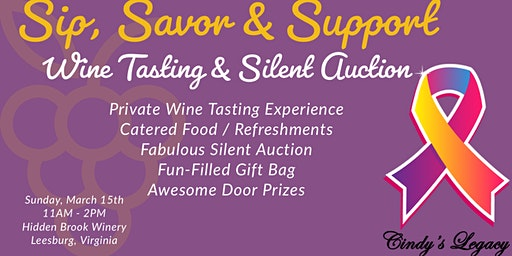 Sip, Savor & Support Wine Tasting and Silent Auction