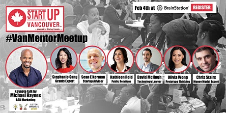#VanMentorMeetup presented by Startup Vancouver tickets