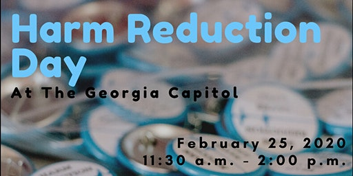Harm Reduction Day at Georgia State Capitol