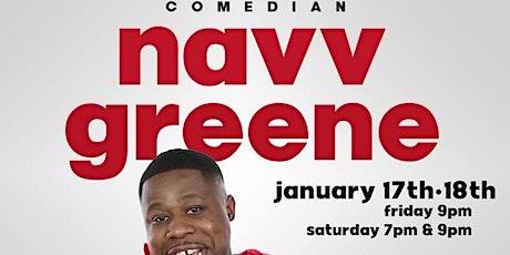 Comedian NAVV GREENE at OAK COMEDY LOUNGE tickets