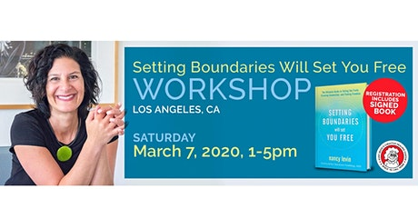 Setting Boundaries Will Set You Free with Nancy Levin tickets