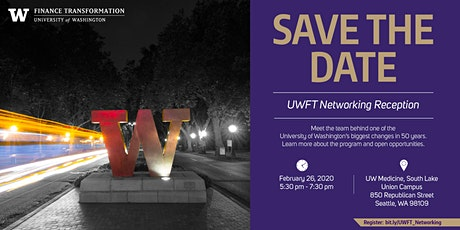 UW Finance Transformation Networking Reception tickets