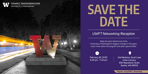 UW Finance Transformation Networking Reception