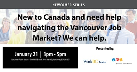 Navigating the Vancouver Job Market: A Free Career Workshop tickets
