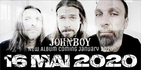 JOHNBOY - pure heavy sound Tickets