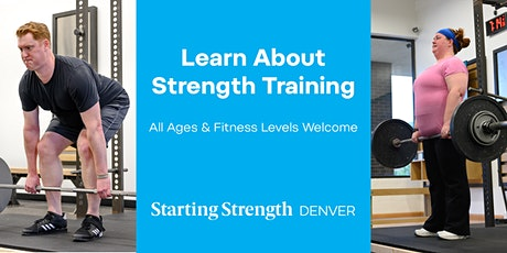Gym Open House & Free Strength Evaluation at Starting Strength Denver tickets