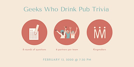 Geeks Who Drink Trivia (INDIANAPOLIS) tickets